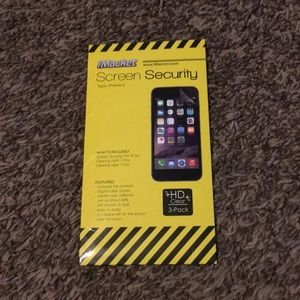 Accessories - Plastic screen protector for iPhone 6/6s